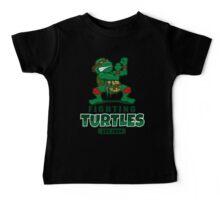 Fighting Turtles Baby Tee