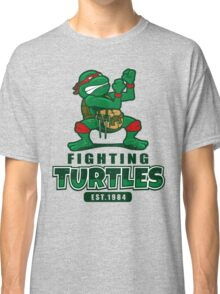 Fighting Turtles Classic T-Shirt