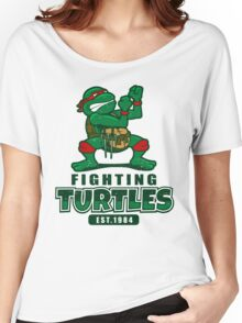 Fighting Turtles Women's Relaxed Fit T-Shirt