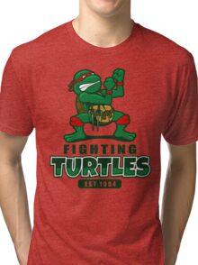 Fighting Turtles Tri-blend T-Shirt