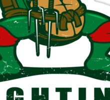 Fighting Turtles Sticker
