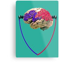 Music to the brain Metal Print