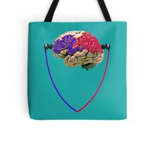 Music to the brain Tote Bag