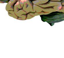 Music to the brain Sticker