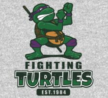 Fighting Turtles - Donatello Kids Tee