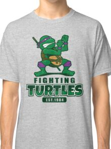Fighting Turtles - Donatello Classic T-Shirt