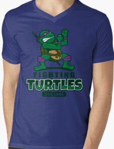 Fighting Turtles - Donatello Mens V-Neck T-Shirt