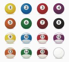 billard balls by Alejandro Durán Fuentes