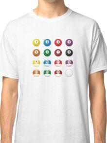 billard balls Classic T-Shirt