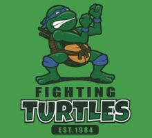 Fighting Turtles - Leonardo One Piece - Short Sleeve