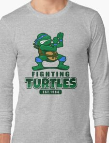 Fighting Turtles - Leonardo Long Sleeve T-Shirt