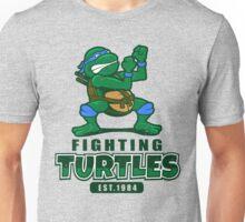 Fighting Turtles - Leonardo Unisex T-Shirt