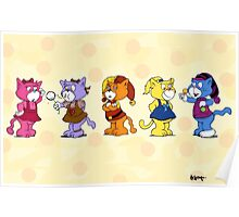 Boomi Cats Poster