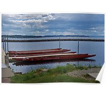 Dragon boats..Vermont USA Poster
