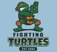 Fighting Turtles - Michelangelo One Piece - Short Sleeve