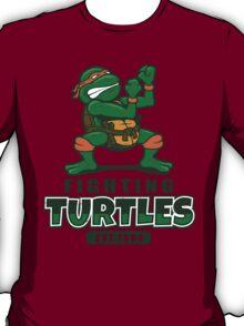 Fighting Turtles - Michelangelo T-Shirt