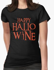 Happy Halloween Tshirt Womens Fitted T-Shirt
