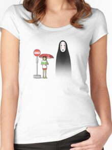 My Lonely Neighbor Women's Fitted Scoop T-Shirt