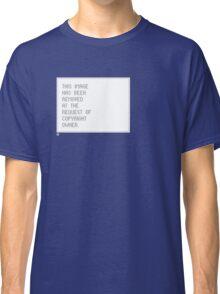 © Control v1.2 Classic T-Shirt