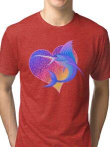 Your 90s Childhood Goes Fishing Tri-blend T-Shirt