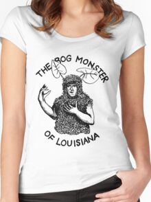 The Bog Monster of Louisiana Women's Fitted Scoop T-Shirt