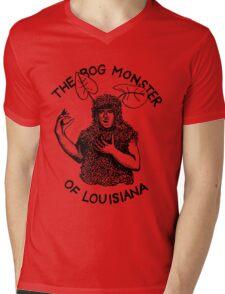 The Bog Monster of Louisiana Mens V-Neck T-Shirt