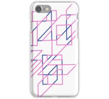 Pink and Blue Array iPhone Case/Skin