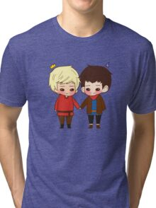A King and His Sorcerer / A Sorcerer and His King Tri-blend T-Shirt