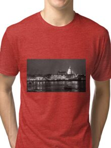 St. Paul's above the Thames Tri-blend T-Shirt