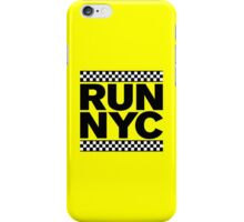 RUN NYC TAXI iPhone Case/Skin