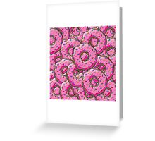 You can't buy happiness, but you can buy many donuts! Greeting Card