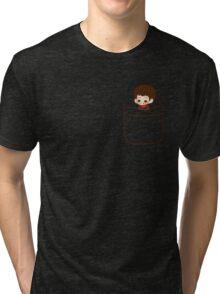 Pocket Merlin Tri-blend T-Shirt