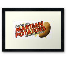 Watney's Martian Potatoes Framed Print