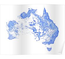 Every mapped stream and river in Australia! Poster