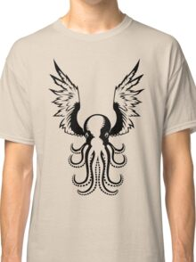 Black Octopus Classic T-Shirt