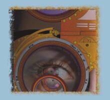 eye as a lens - steampunk Kids Clothes