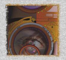 eye as a lens - steampunk One Piece - Long Sleeve