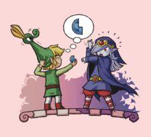 Legend of Zelda Vaati and Link T-Shirt Kids Clothes