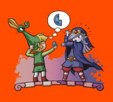 Legend of Zelda Vaati and Link T-Shirt Kids Clothes