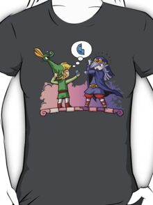 Legend of Zelda Vaati and Link T-Shirt T-Shirt