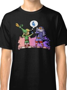 Zelda Vaati and Link  Classic T-Shirt