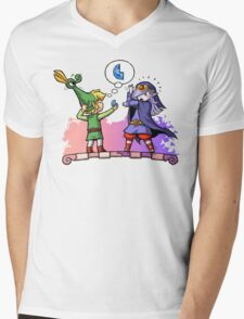 Zelda Vaati and Link  Mens V-Neck T-Shirt