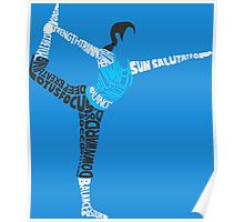 Wii Fit Trainer Typography Poster