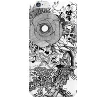 Super Glow - Pen & Ink Art with YouTube Time-Lapse iPhone Case/Skin