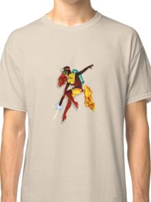 vintage jet pack girl Classic T-Shirt