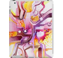 Sunberry - Abstract Watercolor Painting iPad Case/Skin