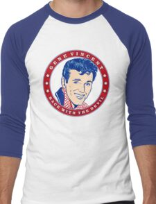 Gene Vincent Race With The Devil Men's Baseball ¾ T-Shirt