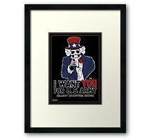 Uncle Sam Wants YOU! Framed Print