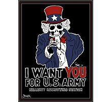 Uncle Sam Wants YOU! Photographic Print