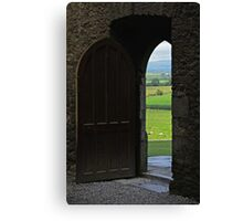 Every New Chapter Provides Intriguing New Doors... Which One Do You Long To Explore? Canvas Print